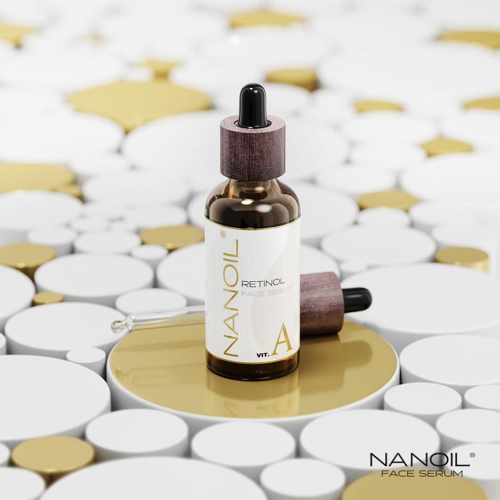 sérum facial de retinol recomendado Nanoil