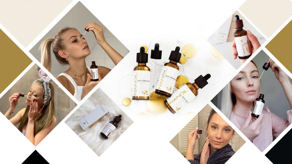 Nanoil melhor sérum facial para pele sensível